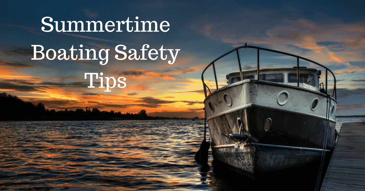 Summer Boating Safety Tips