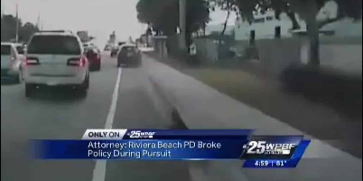 Police Pursuit Car Accident Features South Florida Attorney Labovick