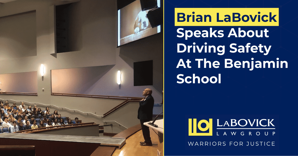 Brian LaBovick speaking